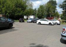 парковка за домом